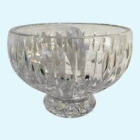 Marquis by Waterford Irish Crystal Glass Bowl Vase Heavy
