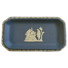 "Wedgwood Jasperware Pale Blue 6"" Oblong Tray"