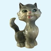Goebel West Germany Kitty Cat with Nylon Whiskers Figurine