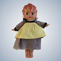 Flapper Betty Boop Style Googly Eye Celluloid Doll Japan