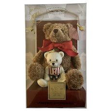 Lenox 100th Anniversary Teddy Bear Ornament In Original Box
