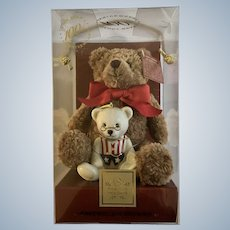 Lenox 100th Anniversary Teddy Bear Ornament In Original Box