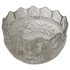 Royal Irish Crystal Bowl Designed in Ireland Made in Czech Republic 24% Lead Crystal