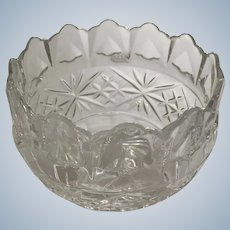 Royal Irish Crystal Bowl Designed in Ireland Made in Czech Republic 24% Lead Crystal