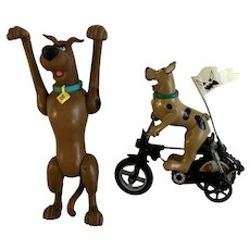 Scooby Doo on BMX Bike & Monster Series 2  Hanna-Barbera Action Figurines