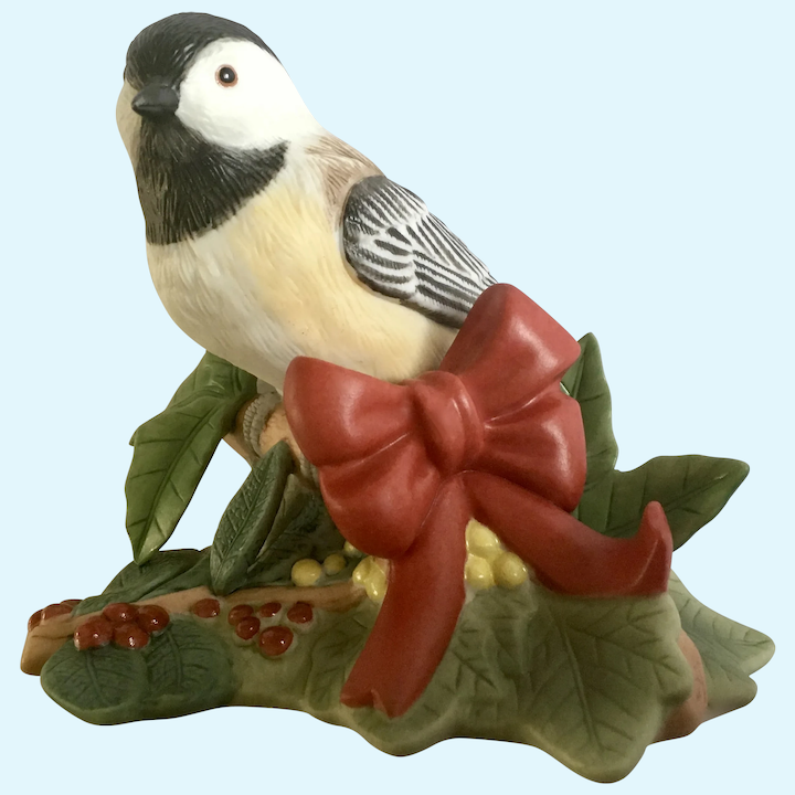 Chickadee Bird Figurine 3 Inches CHOOSE ONE ITEM