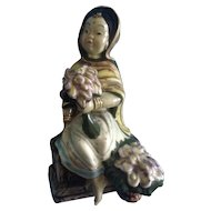 GORT Asian Oriental Laila Girl Vintage Figurine 1940's Bone China
