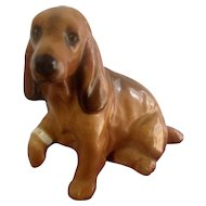 Royal Doulton Cocker Spaniel Dog K9 With Bandage Hurt Foot Figurine Vintage Old Stamp K9 -7