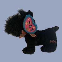 Scottie Dog Scottish Terrier MacDougal December Birthstone Full O' Beans 2000 Plush Avon