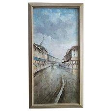 Nicholas Palsey, European Cityscape French Impressionist Parisian Street Scene