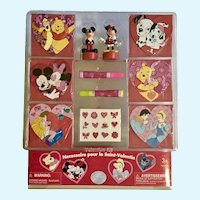 Disney Valentine Kit Mickey Pooh Sleeping Beauty Exclusive Disney Store Retired