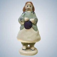 Girl Capistrano Ceramic California Pottery Figurine