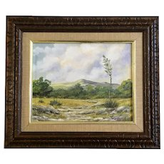 Lona Bell, San Antonio Texas Landscape Oil Painting Signed by Listed Artist