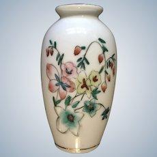 Bone China Miniature Flower Vase Dollhouse Diorama Japan