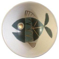 "Metlox Tropicana Fish Bowl 6 "" Extremely RARE Helen Mclntosh 1957 Dinnerware"