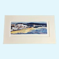 Amy Chapman, Shoreline Haven Limited Edition Lithograph Print 19/500