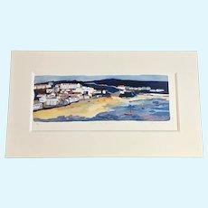 Amy Chapman, Shoreline Haven Limited Edition Lithograph Print 19/500