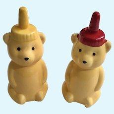 Adorable Honey Bear Salt & Pepper Shakers
