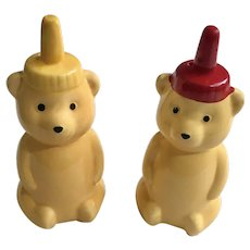 Adorable Honey Bear Salt & Pepper Shakers