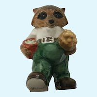 The Ringtale Raccoons Grandpa Goebel Figurine