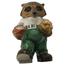 The Ringtale Raccoons Grandpa Goebel Figurine