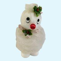 Vintage Christmas Snowman Styrofoam Snow Foam Products  El Monte, California Figure