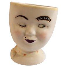 Baileys Irish Cream Coffee Mug Cup Yum Wink Lady Limited Edition 1997