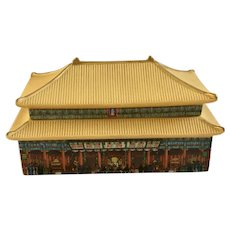 Forbidden City Porcelain Chinese Palatial Architecture Music Box Palace Museum 1991