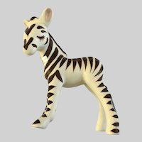 DeLee Art Zebra Zombie California Pottery Figurine HTF 1930s to 1950s