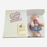 Teddy Bear Annette Funicello, 'Sophie' Stuffed Plush Animal 561/5000 COA