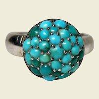 Antique Victorian Turquoise Ring