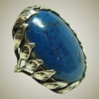 Arts and Crafts Handmade Sodalite Ring