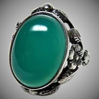 Bernard Instone Arts and Crafts Ring
