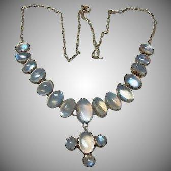 Stunning Vintage Moonstone Necklace