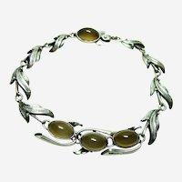 Vintage Chalcedony Bracelet