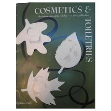 Cosmetics & Toiletries Magazine September 1949  Filled with Vintage Advertising