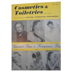 Cosmetics & Toiletries Magazine  May 1952  Schiaparelli Color Perfume Ad