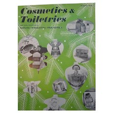 Cosmetics & Toiletries Magazine  August 1952 Filled with Vintage Advertising - Red Tag Sale Item