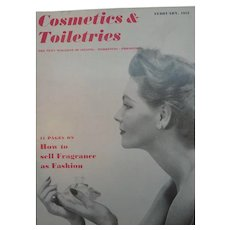 Cosmetics & Toiletries Magazine February 1953  with Vintage Advertising
