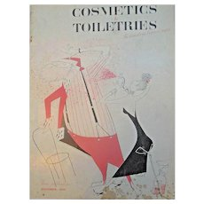 Cosmetics & Toiletries Magazine December 1949  Large Photo Advertising
