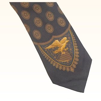 Vintage Polo Ralph Lauren Silk Tie  New With Tags
