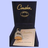 Vintage Carolee Limited Edition Celebrate Champagne Bottle Brooch
