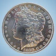 United States Silver Dollar Morgan Coin 1888