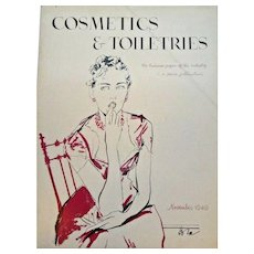 Cosmetics & Toiletries Magazine Nov 1949 Large Photo Ads