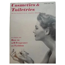 Cosmetics & Toiletries Magazine February 1953 Full of Vintage Advertising