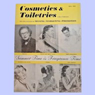 Cosmetics & Toiletries Magazine  May 1952 Full of Vintage Advertising & Photos