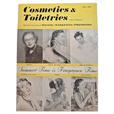 Cosmetics & Toiletries Magazine  May 1952 Full of Vintage Advertising & Photos