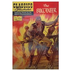 Vintage Classics Illustrated The Buccaneer  Comic Book No. 148 1959