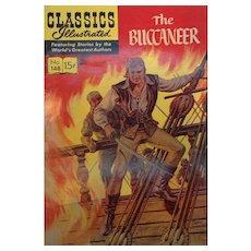 Vintage Classics Illustrated The Buccaneer  Comic Book No. 148 1959
