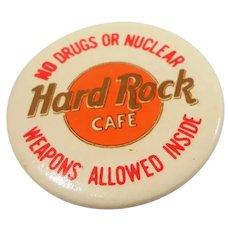 Hard Rock Cafe London Souvenir Button Pin